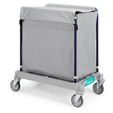 Carrinho de serviço para o transporte da rouparia
