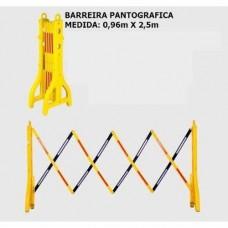 Barreira pantográfica para sinalização
