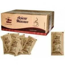 Açúcar Mascavo Sachês De 5g Caixa Com 200 Unidades